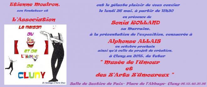 Affiche 26 mai invitation