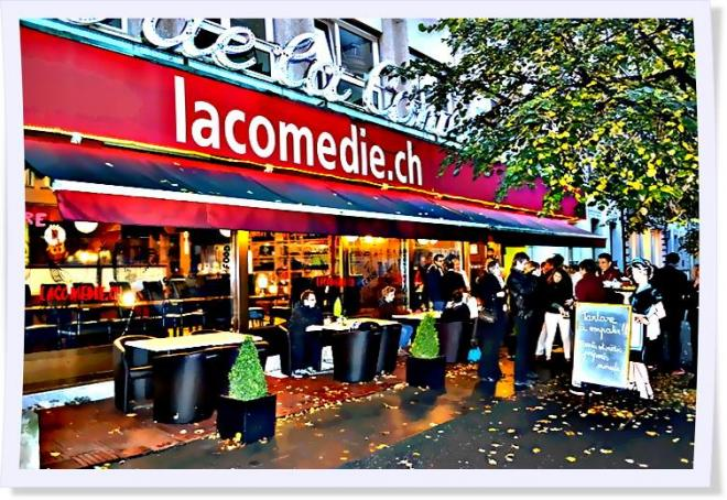 Cafe de la comedie