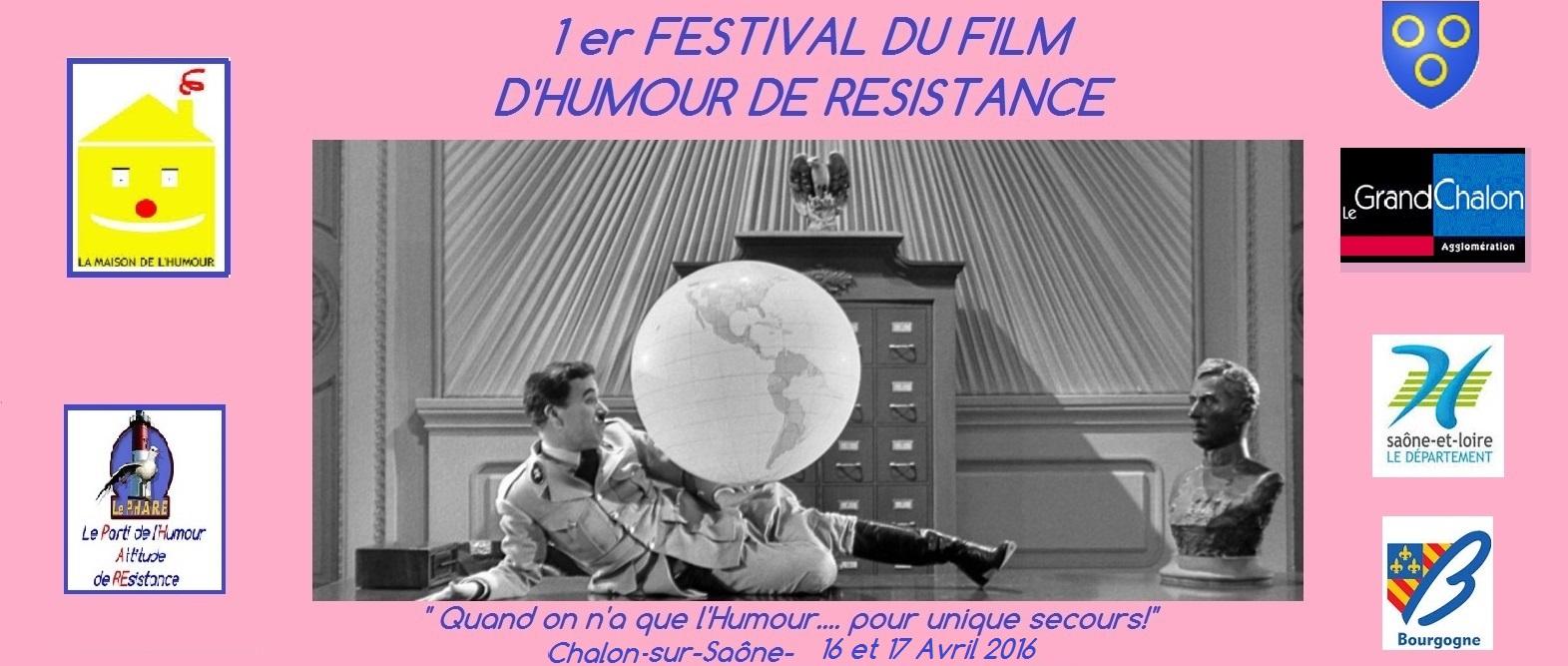 festival du film d 39 humour de r sistance 16 et 17 avril chalon sur sa ne. Black Bedroom Furniture Sets. Home Design Ideas
