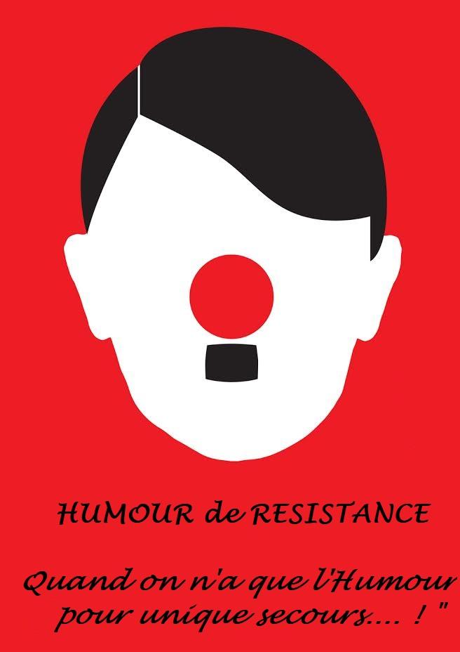 Humour de resistance affiche