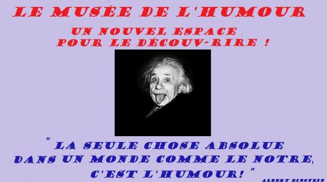 Musee humour einstein1