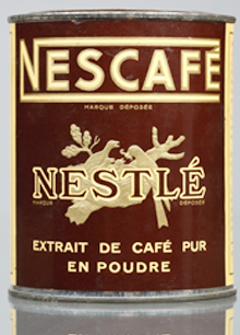 Nescafe tin 1918 1938 2