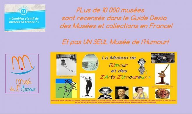 Nombre de musees en france 1