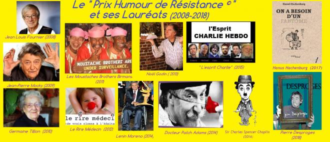 Prix humour de resistance laureats 2021