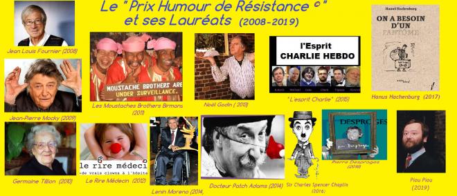 Prix humour de resistance laureats 2024