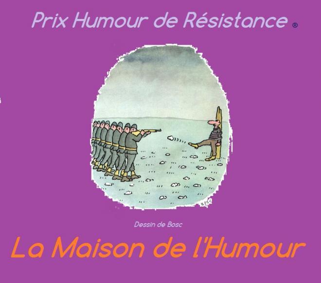 Prix humour de resistance