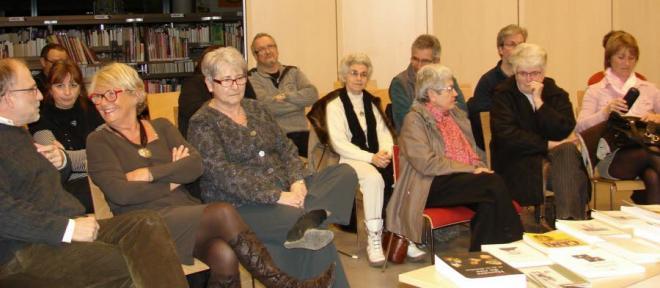Une assistance de connaisseurs a suivi la conference d etienne moulron